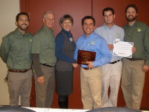 This Efficient House Xcel Energy Award for Top Five Colorado Contractor