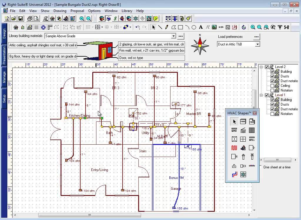 ... Manual D, HVAC Design