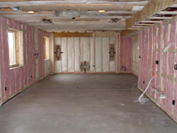 This Efficient House Energy Saving Basement Finishing